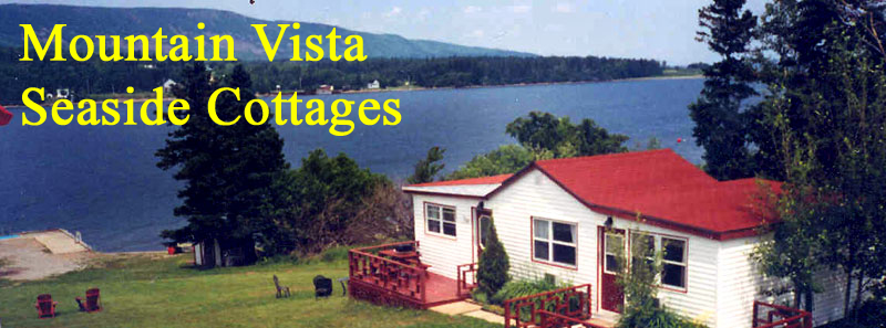 One of the cottages at Mountain Vista Seaside Cottages