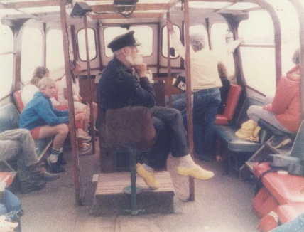 Captain Joe on the Eastwind III, circa 1989